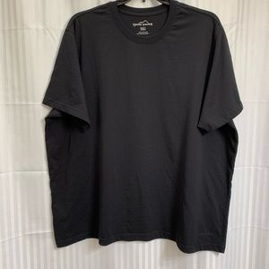 Men's Eddie Bauer Crew Neck Black T-Shirt XXXL